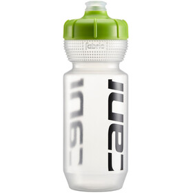 Cannondale Logo Flasche 600ml clear/green